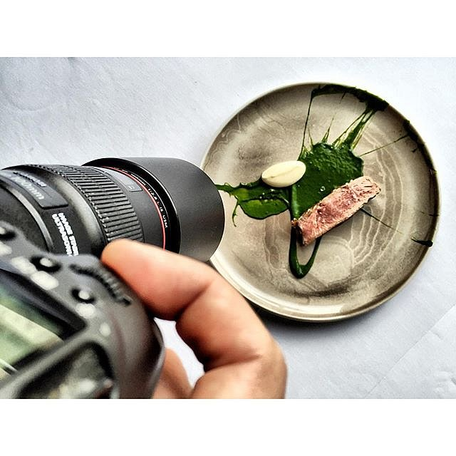 Shooting pictures at @mallingkro today with @mikkel_k_s #raisfoto #lovemyjob #instafood #chef #chefstalk #theartofplating #food #foodie #gourmet #Aarhus #beautiful